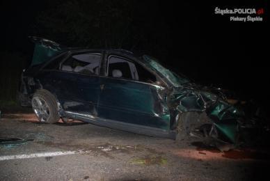 Kierowca z promilami wypadł z drogi