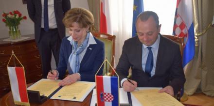 Delegacja Piekar Śląskich z wizytą w Chorwacji