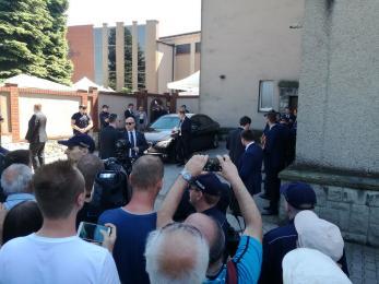 Prezydent Andrzej Duda na piekarskiej pielgrzymce