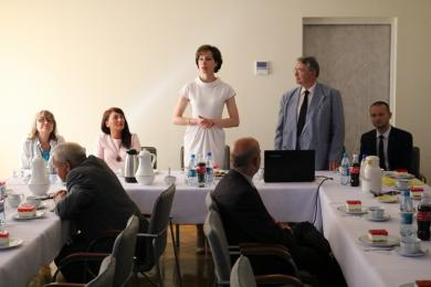 Delegacje z Mołdawii, Rumunii i Słowenii w naszym mieście