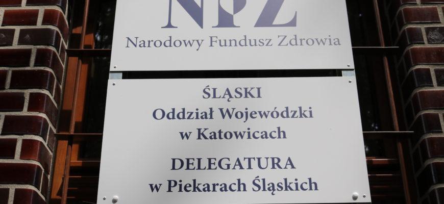 Delegatura NFZ w Piekarach Śląskich jest już dostępna dla mieszkańców