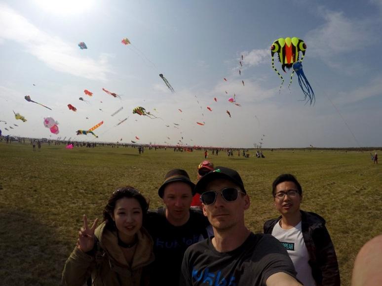 Kuklok z latawcami w Chinach!