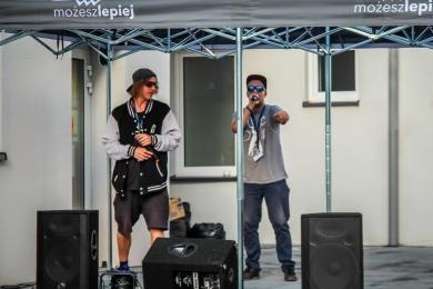 Młodzi mieszkańcy zorganizowali Piekarski Rap Festiwal