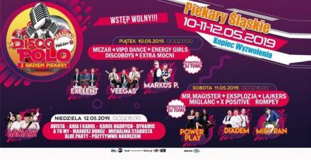 Festival Disco Polo z Radiem Piekary już 10 maja