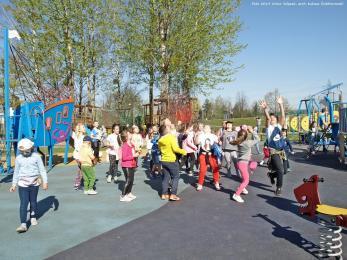 Wielkanocna zabawa dla najmłodszych przyciągnęła prawdziwe tłumy