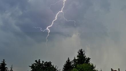 Uwaga, ostrzeżenie przed burzami!