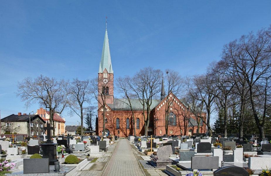 Dąbrówka Wielka - Kościół pw. Matki Boskiej Wspomożenia Wiernych