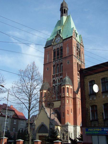 Brzeziny Śląskie - Kościół pw. Najświętszego Serca Pana Jezusa