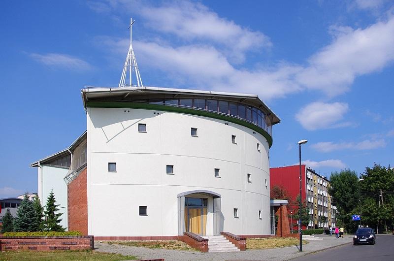 Centrum - Kościół pw. Świętej Rodziny